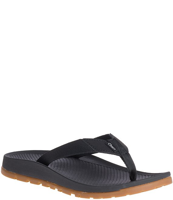 Color:Black - Image 1 - Women's Lowdown Flip Flops