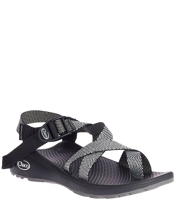 Color:Excite Black White - Image 1 - Women's Z Cloud 2 Printed Sandals