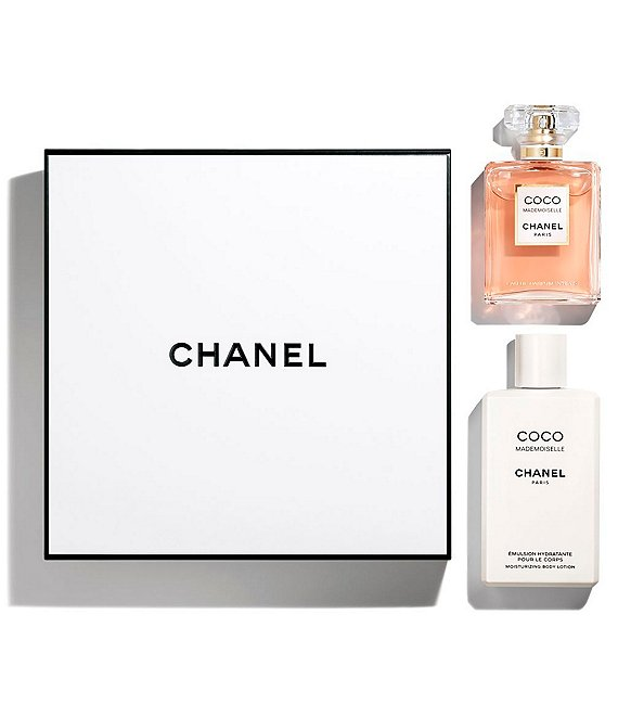 CHANEL COCO MADEMOISELLE EAU DE PARFUM INTENSE BODY LOTION SET