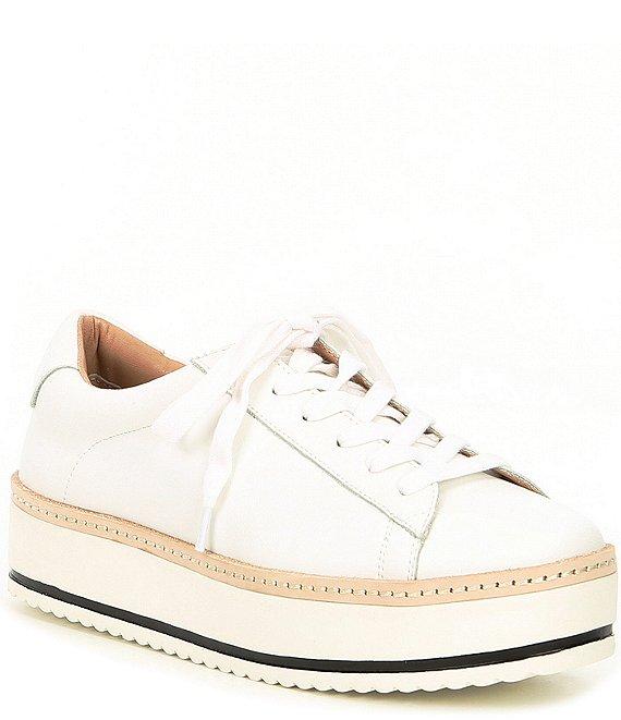 Chelsea Violet Minie Leather Platform Lace Up Sneakers Dillard S