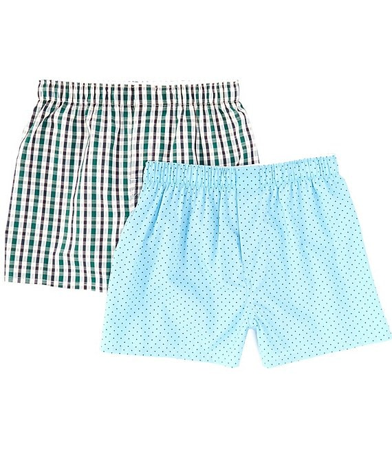 Class Club Big Boys 6-20 2-Pack Woven Boxers