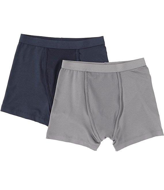 Class Club Big Boys 6-20 Performance 2-Pack Boxer Briefs