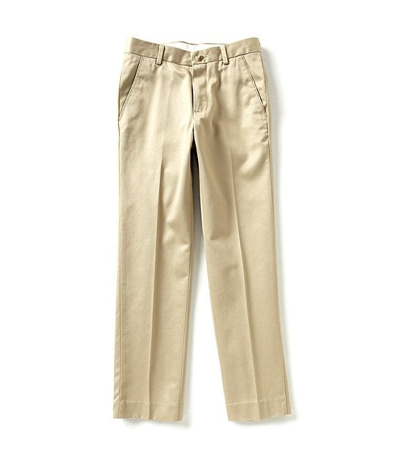 Color:Soft Khaki - Image 1 - Big Boys 8-20 Modern Fit Chino Pants