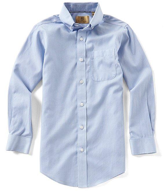 c9ad55c63b17 Class Club Gold Label Big Boys 8-20 Non-Iron Button-Front Shirt | Dillard's