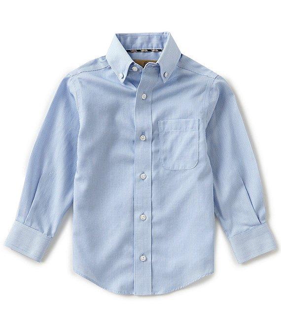 7cb95e248fd4 Class Club Gold Label Little Boys 2T-7 Non-Iron Button-Front Shirt |  Dillard's