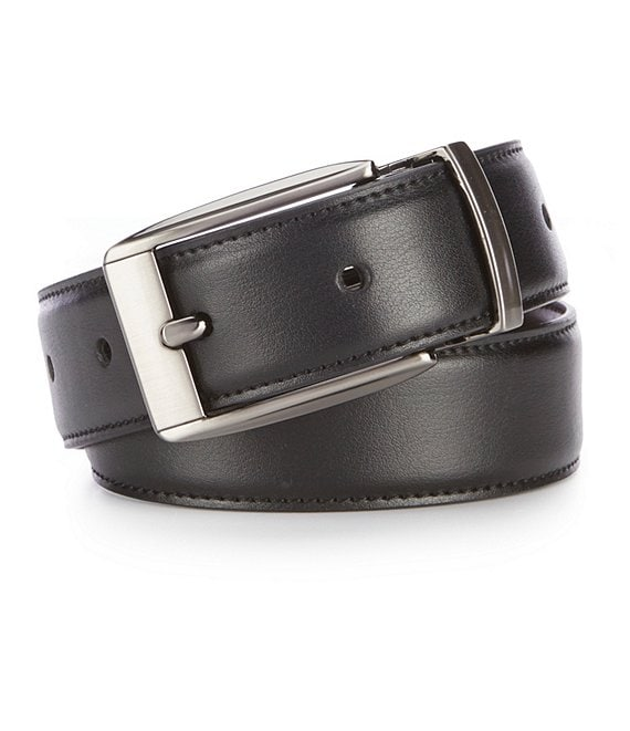 Color:Black - Image 1 - Gold Label Boys Reversible Stretch Belt