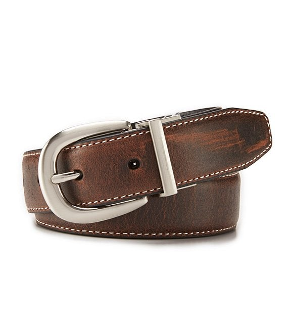 Boys Brown Dress Belt