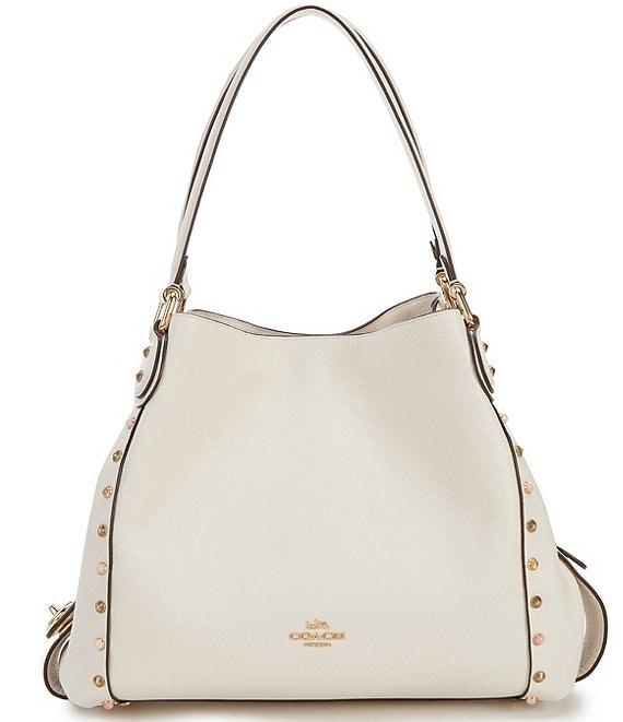 f032fcd0a5 COACH Edie 31 Rivet Studded Shoulder Bag | Dillard's