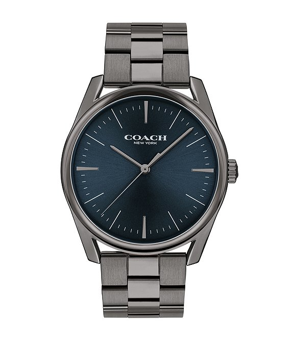 Color:Gunmetal - Image 1 - Preston Bracelet Watch
