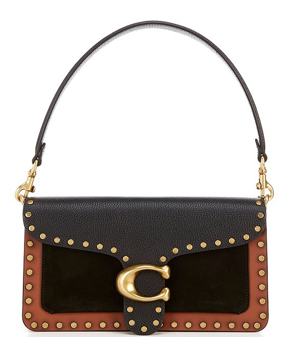 COACH Tabby Snakeskin Crossbody Bag