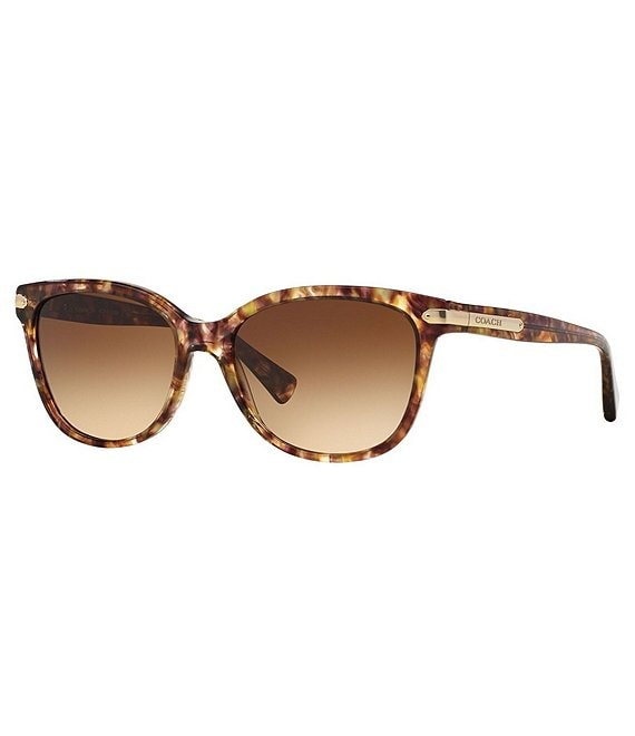 Color:Brown - Image 1 - Cat Eye Gradient Lens Sunglasses