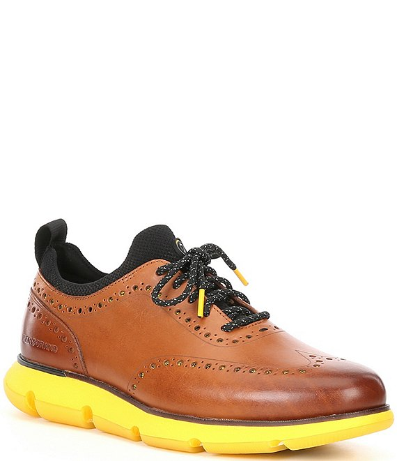 Leather Wingtip Oxfords