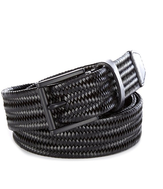 Cole Haan Pinch Woven Braid Leather Belt
