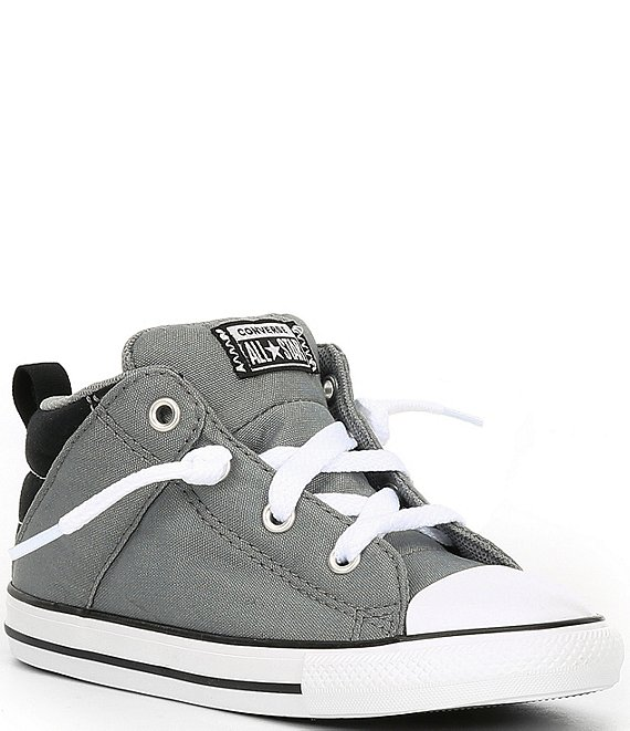 Color:Limestone Grey/Black/White - Image 1 - Boys' Chuck Taylor All Star Axel Mid Sneakers (Infant)