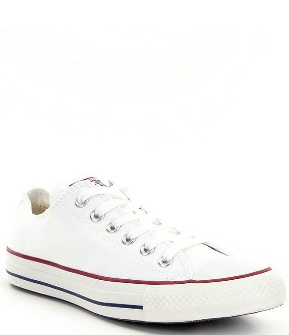 Color:Optical White - Image 1 - Kids' Chuck Taylor® All-Star® Lace-Up Sneakers (Youth)