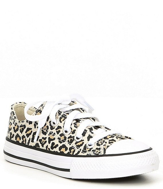 Converse Girls' Chuck Taylor All Star Leopard Print Sneakers (Youth)