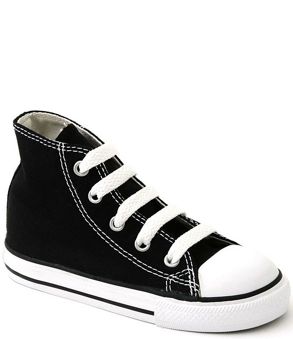 Color:Black - Image 1 - Kids' Chuck Taylor® All Star® High Top Sneakers (Infant)