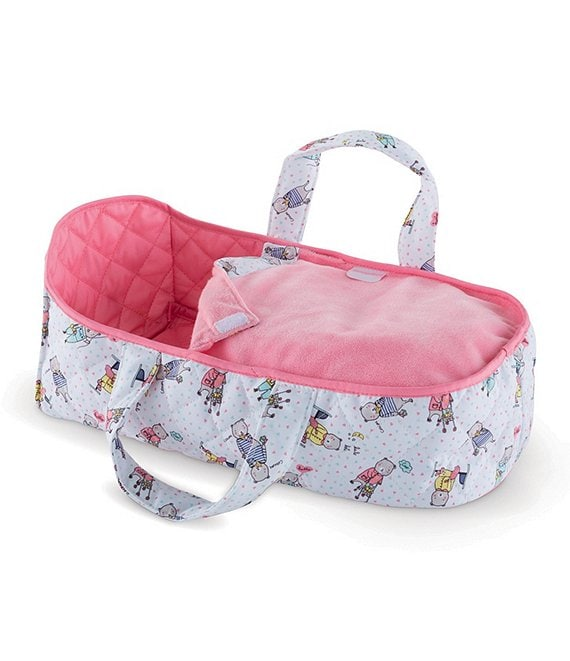 Color:Pink - Image 1 - Carry Bed for 12-inch Baby Doll