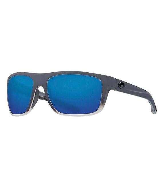 Color:Matte Fog Blue Glass Mirror - Image 1 - Broadbill Ocearch Polarized Sunglasses