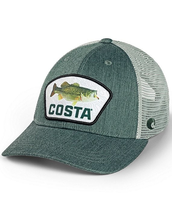 Costa Largemouth Bass Topo Trucker Hat