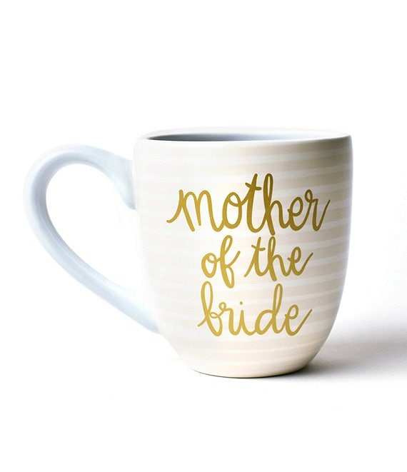 Color:Mother of the Bride - Image 1 - Ecru Stripe Mother of the Bride and Groom Mug