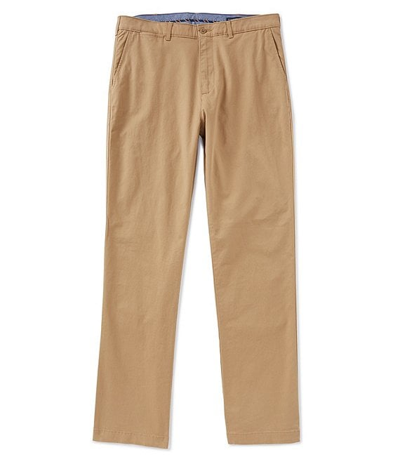Cremieux Madison Flat-Front Twill Chino Pants