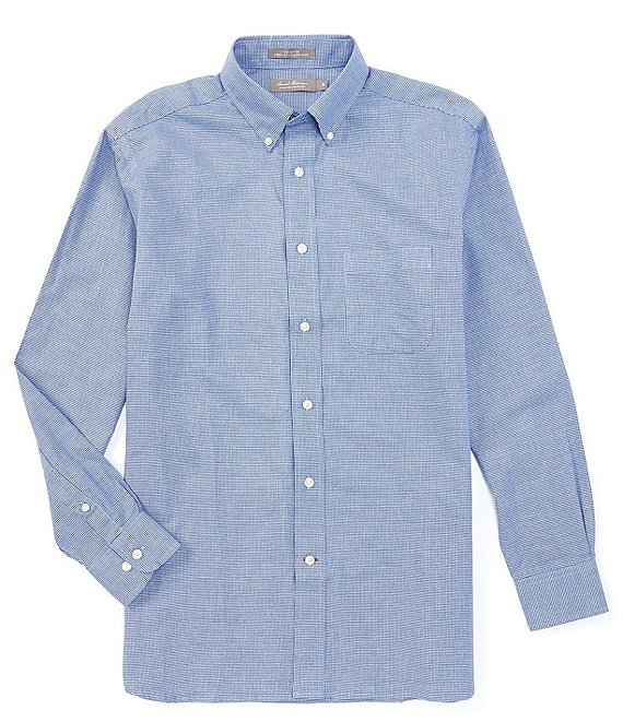 Daniel Cremieux Signature Heather Long-Sleeve Woven Shirt