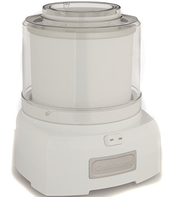 Color:White - Image 1 - White Frozen Yogurt, Ice Cream & Sorbet Maker