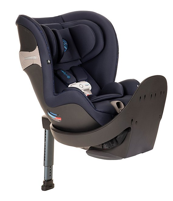Color:Indigo Blue - Image 1 - Sirona S with SensorSafe Rotatable Convertible Car Seat