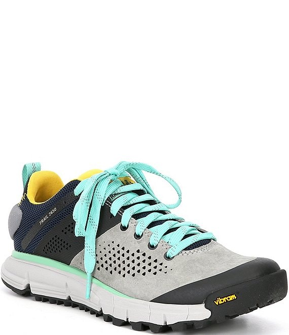 Color:Grey/Blue/Spectra Yellow - Image 1 - Women's Trail 2650 Hiking Shoes