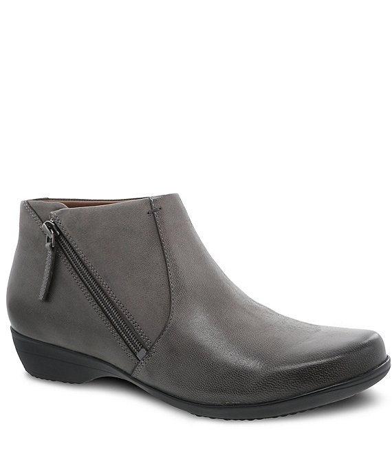 Dansko Fifi Burnished Leather Booties