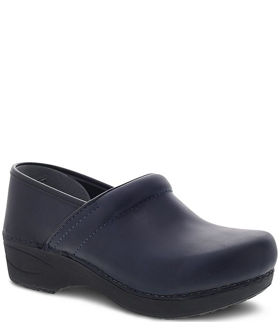 Color:Navy - Image 1 - XP 2.0 Waterproof Leather Clogs