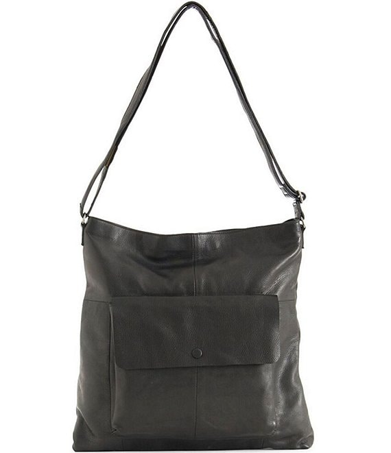 Color:Black - Image 1 - Malou Snap Pocket Hobo Bag