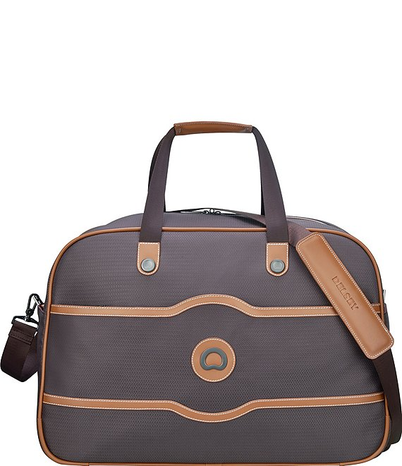 Color:Chocolate - Image 1 - Chatelet Soft Air Weekender Duffel