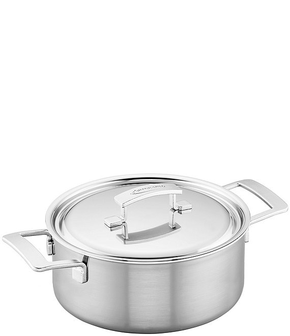 Demeyere Industry 5.5 QT Stainless Steel Dutch Oven