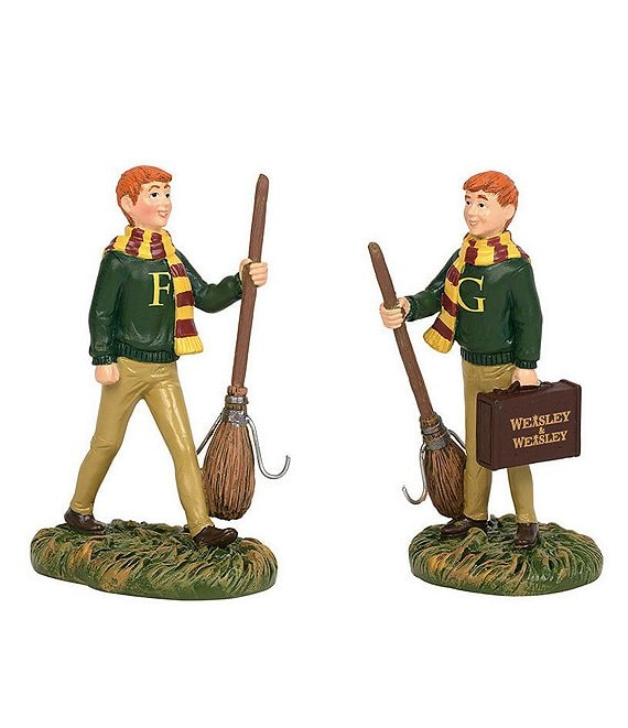 Department 56 Harry Potter Fred & George Weasley Figurine