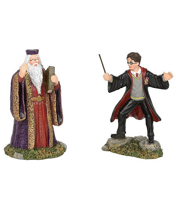 Department 56 Harry Potter Harry and the Headmaster Figurine