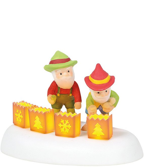 Department 56 North Pole Collection Lighted For a Luminous Christmas Figurine