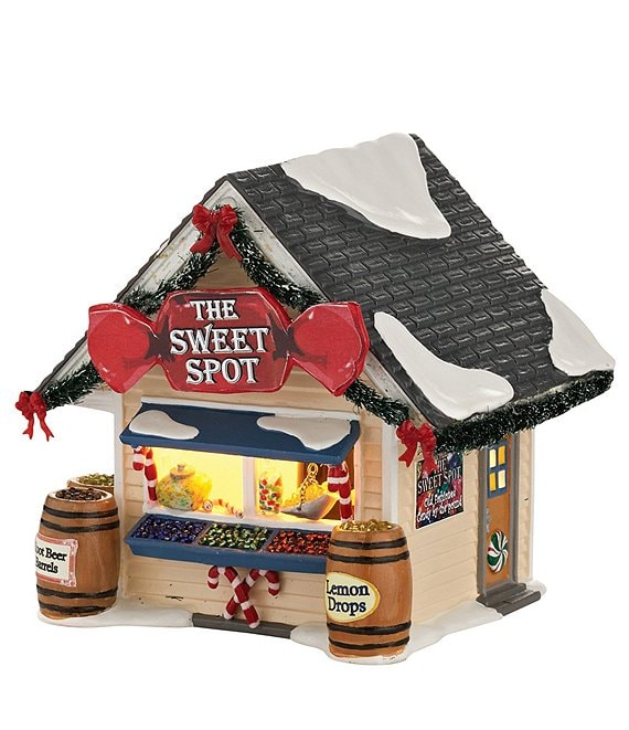 Department 56 Snow Village Collection The Sweet Spot