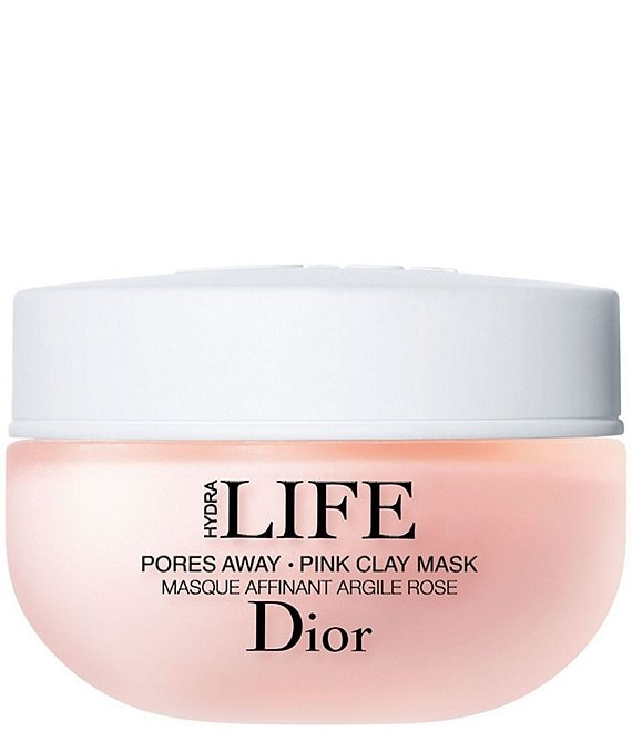 Dior Hydra Life Pores Away Pink Clay Face Mask Treatment