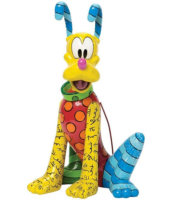 Disney by Britto Pluto Figurine
