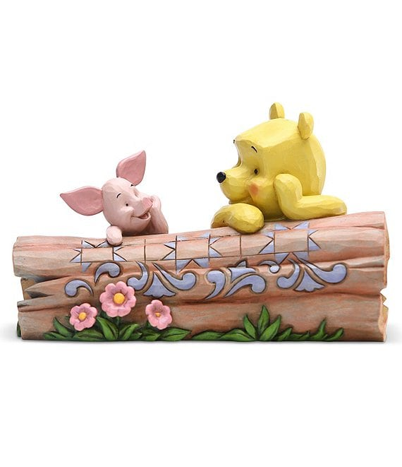 Disney Traditions by Jim Shore Winnie the Pooh and Piglet #double;Truncated Conversation#double; Figurine