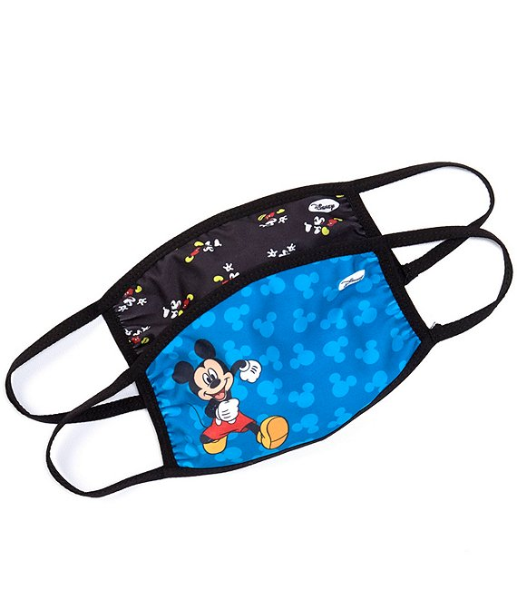 Disney Mickey Mouse 2-Pack Face Masks