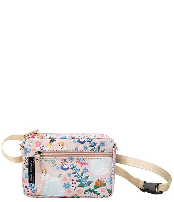 Color:Cinderella Leatherette - Image 1 - Disney x Petunia Pickle Bottom Cinderella Adventurer Belt Bag