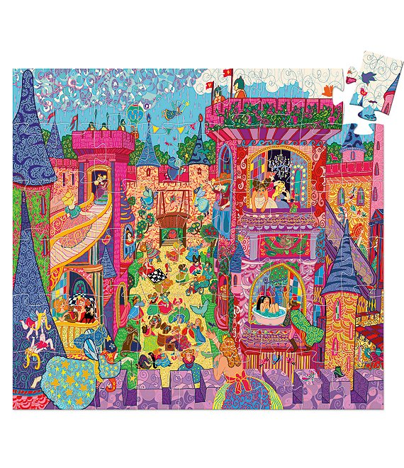Color:Multi - Image 1 - Fairy Castle Puzzle