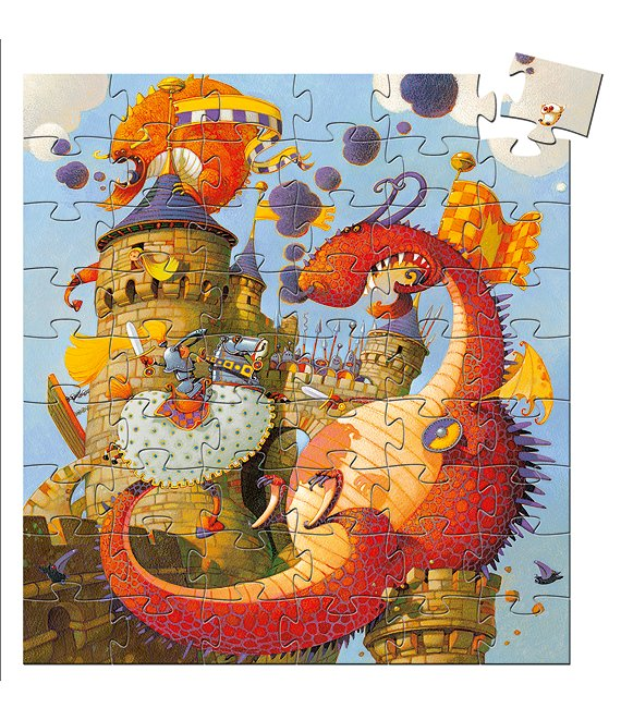 Djeco Vaillant And The Dragon Puzzle