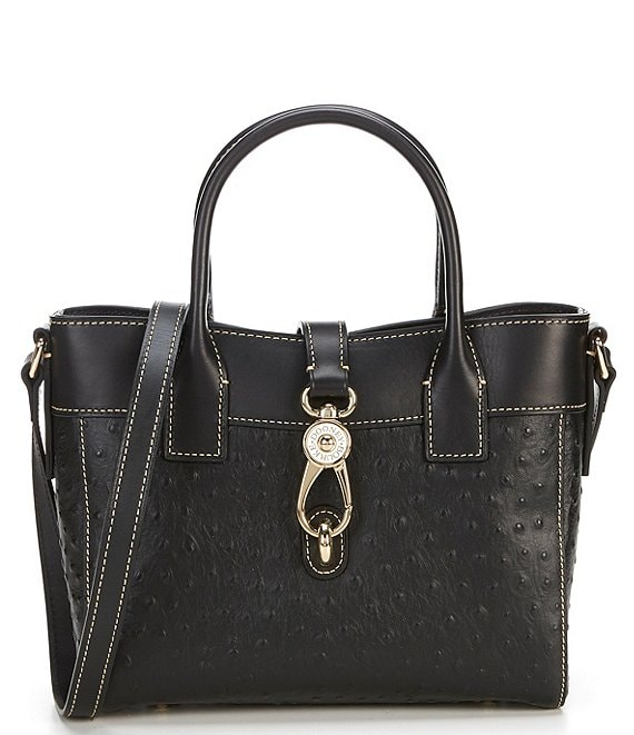 Dooney & Bourke Ostrich Collection Amelie Tote