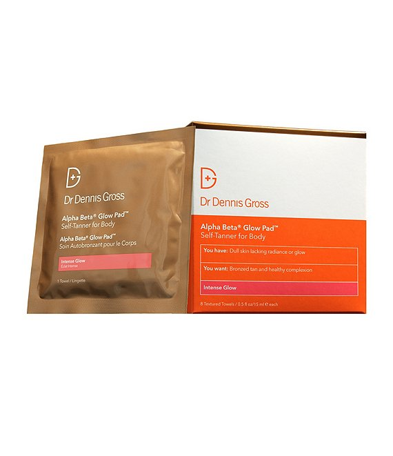 Dr. Dennis Gross Alpha Beta Glow Pad Self-Tanner for Body Intense Glow