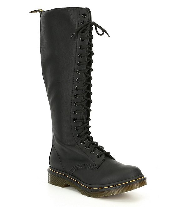Dr. Martens 1B60 20-Eye Tall Leather Boots
