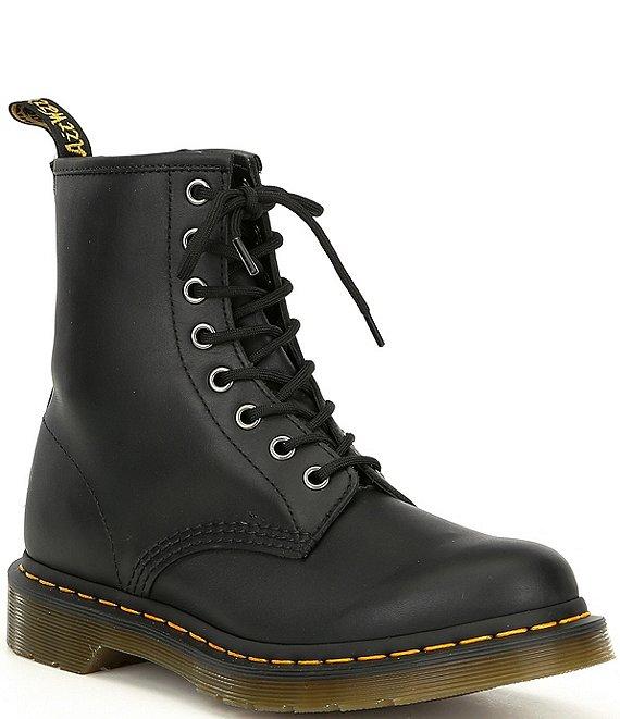 46502f29d7514 Dr. Martens Women's 1460 Black Nappa Combat Boots | Dillard's